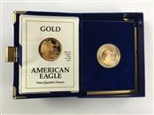 1/4 oz Gold American Eagle - 1991 - Proof
